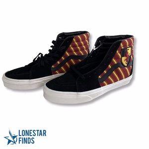 Vans Harry Potter Gryffindor Sk8 Hi Top Sneakers